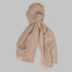 Begg & Co - Kishorn cashmere scarf natural