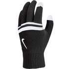 NIKE STRIPE KNITTED TECH AND GRIP GLOVES BLACK/ANTHRA