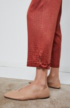 bottom tied pants copper