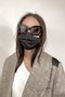 PLIS DESIGNER FACE MASK - BLACK