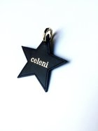 Camellia star leather key holder