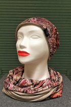 Women Beanies & Scarves SD6053LILLE/Sparkle beige