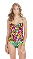 JAMAICA one-piece swimsuit - E766