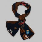 Fumagalli 1891 - Milano sport equipment wool/silk scarf blue