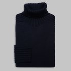 Gran Sasso - Chunky turtleneck sweater navy