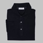 Gran Sasso - Wool/silk tennis sweater navy