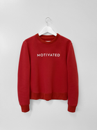 MOTIVATED UNITE Sweatshirt RED