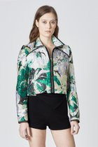 Metallic Floral Jacket MULTI