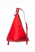 DELTA BACKPACK Red dotted
