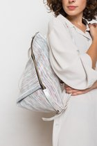 DELTA BACKPACK White with stripes