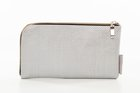 BASIC PURSE WITH ZIP Silver