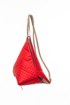 MINI DELTA BACKPACK Red dotted