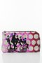 BASIC PURSE WITH ZIP - Bicycle man printed