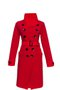 FORTUNA coat - cherry red