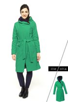 GERTRUD winter coat green-dark blue