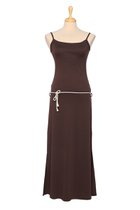 DANUTA maxi dress brown