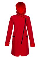 FIODA coat cherry red