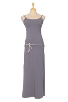 DANUTA maxi dress gray