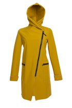 FIODA coat mustard yellow