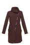 FABIOLA coat - brown