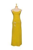 DANUTA maxi dress mustard yellow