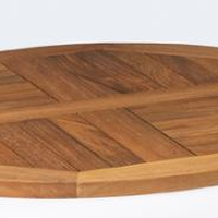 Teak table top