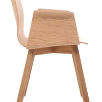 Maverick wooden with armrests