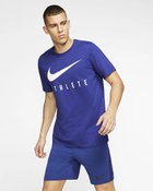M NK DRY TEE DB ATHLETE DEEP ROYAL B