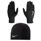 NIKE  WOMEN'S RUN DRY HAT/GLOVE SET