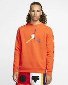 M J SPRT DNA HBR FLEECE CREW BRILLIANT OR