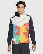 M NK WINDRUNNER JKT ART SAIL/BLACK/U