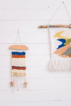 Woven wall hanging FOREST SENSE OF FEELING
