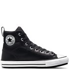 CHUCK TAYLOR ALL STAR FAUX LEATHER BERKSHIRE BOOT BLACK/WHITE/BLACK