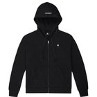 CONVERSE WOMENS FOUNDATION FULL ZIP HOOD CONVERSE BLACK