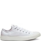 CHUCK TAYLOR ALL STAR LOW TOP WHITE/WHITE/SILVER
