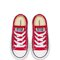 CHUCK TAYLOR ALL STAR LOW INFANT/TODDLER - RED